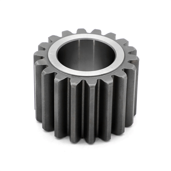 CNC machine gears